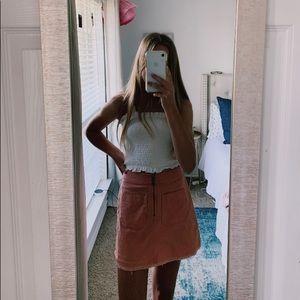 Madewell Pink Skirt